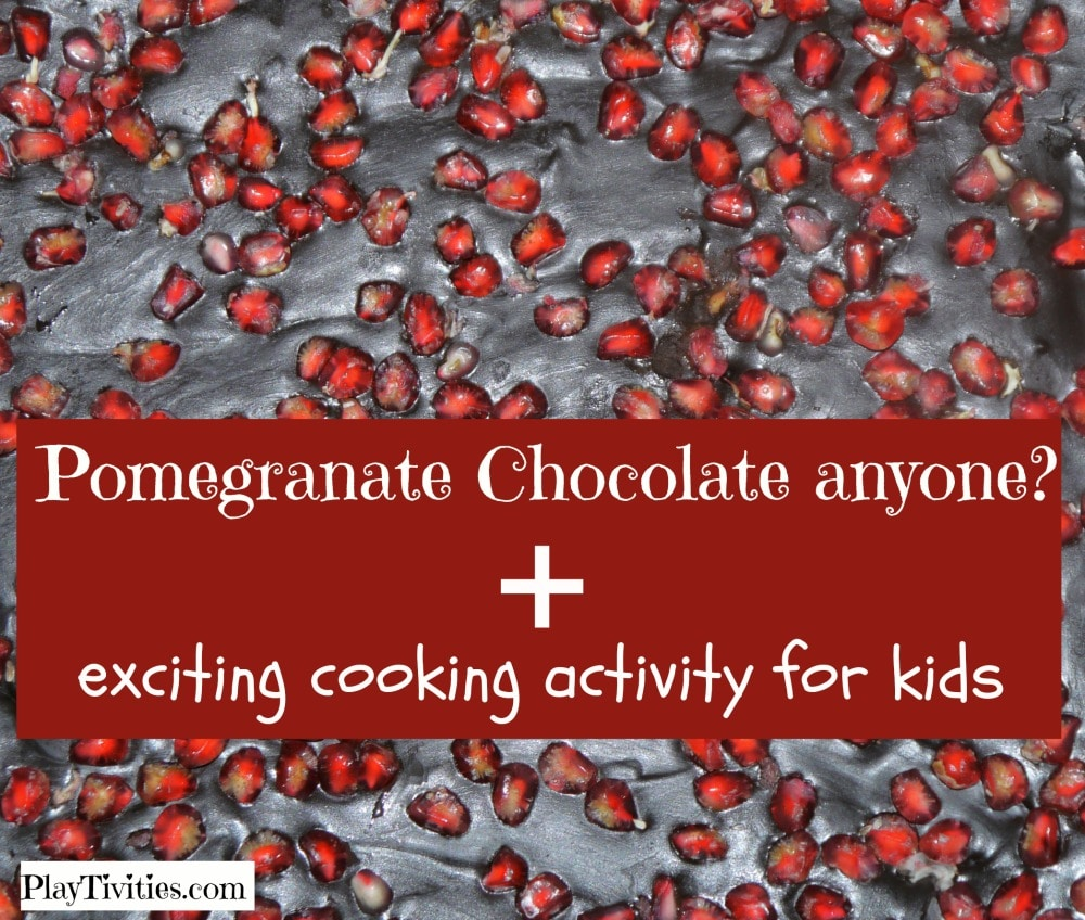 Pomegranate chocolate recipe for kids