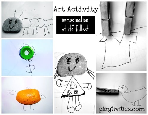 Simple Art Activity for kids that turns out to be brilliant