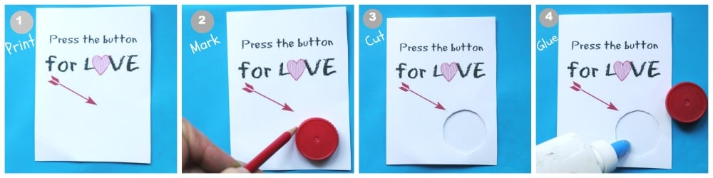 tutorial making valentince cards for kids printable
