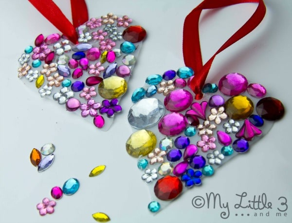 valentines crafts necklace
