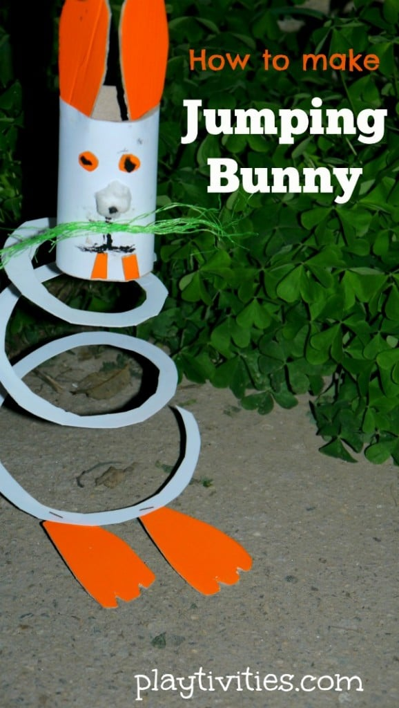 How to make Jumping Bunny Craft