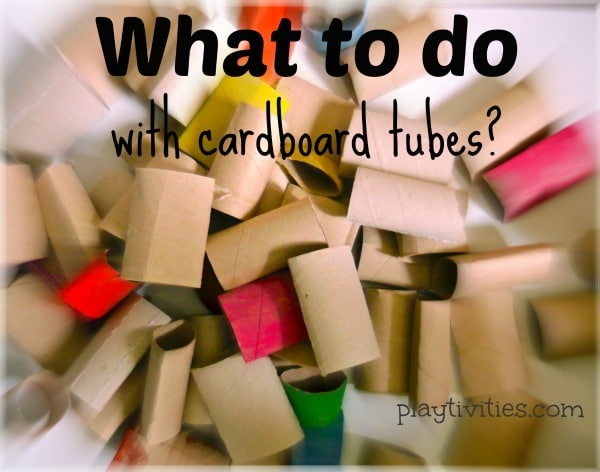 carboard tubes building