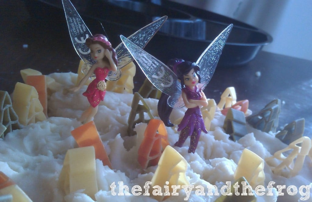 fairy playdough activity