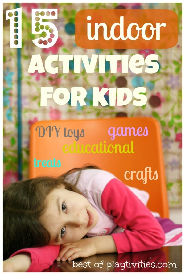 15 Creative Indoor Activities For Kids Without Spending Any Money