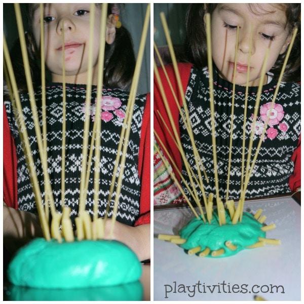 playdough pasta