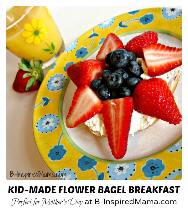Kid-Made-Flower-Bagel-Breakfast-for-Mothers-Day-at-B-Inspired-Mama