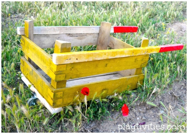 diy wheelbarrow project