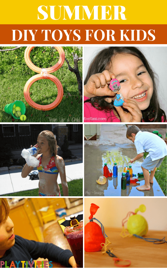DIY Summer Toys For Kids