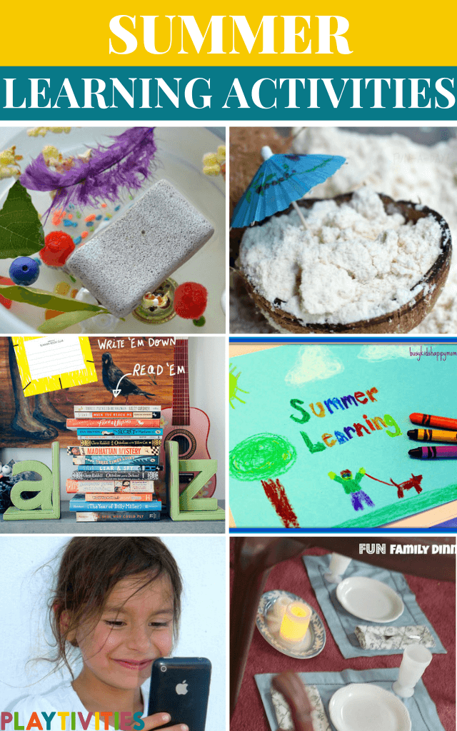 Summer Learning Activities For Kids