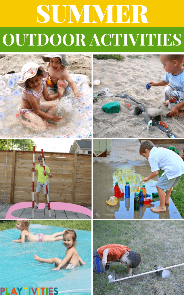 Summer Outdoor Activities For Kids