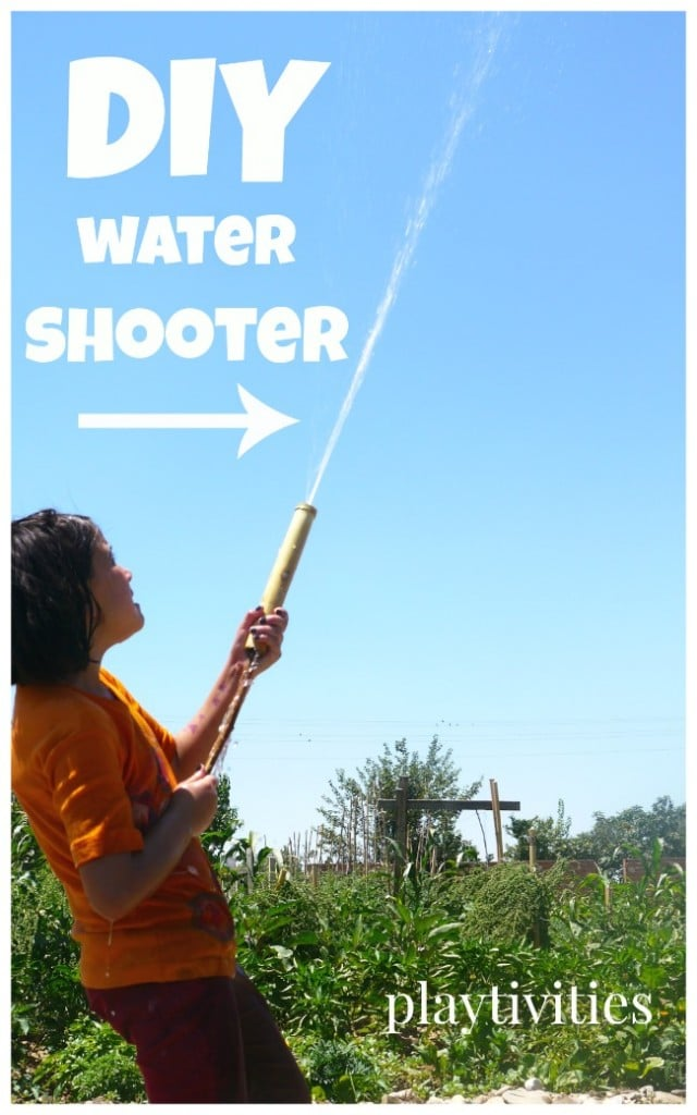DIY Water Shooter Toy from Dad's Childhood Memories