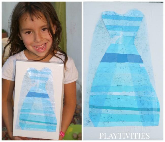 frozen craft dress