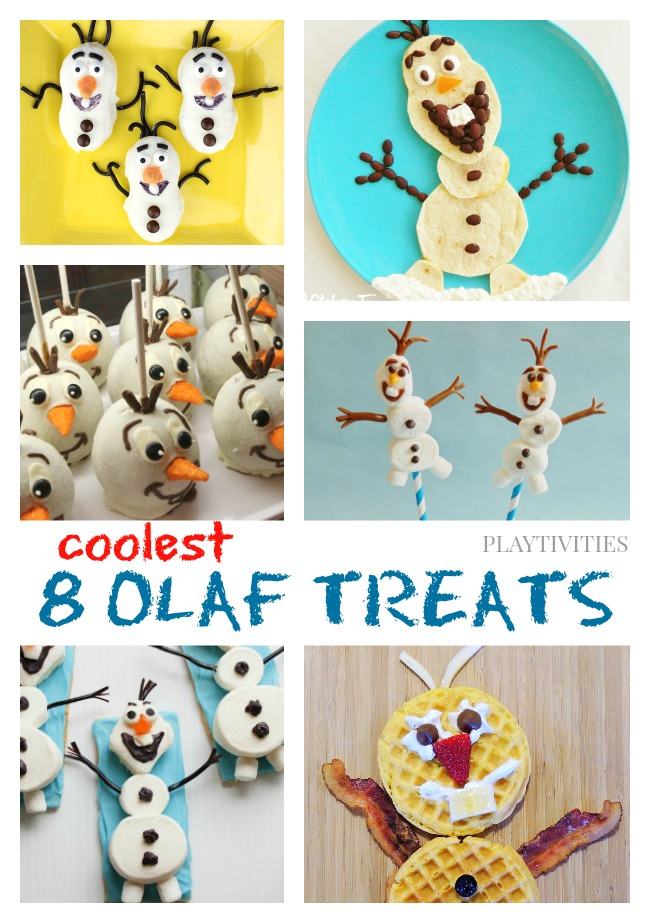 Olaf the Snowman Treats to make with your kids