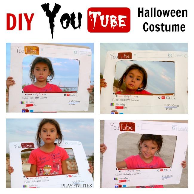 diy youtube costume