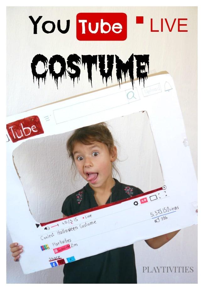 homemade youtube costume