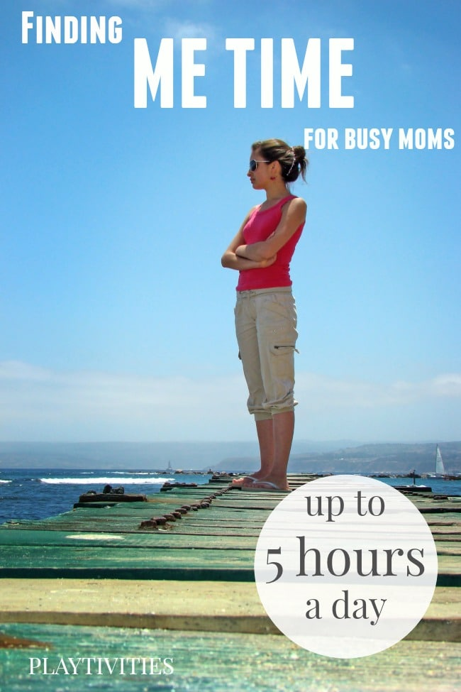 finding me time for busy moms