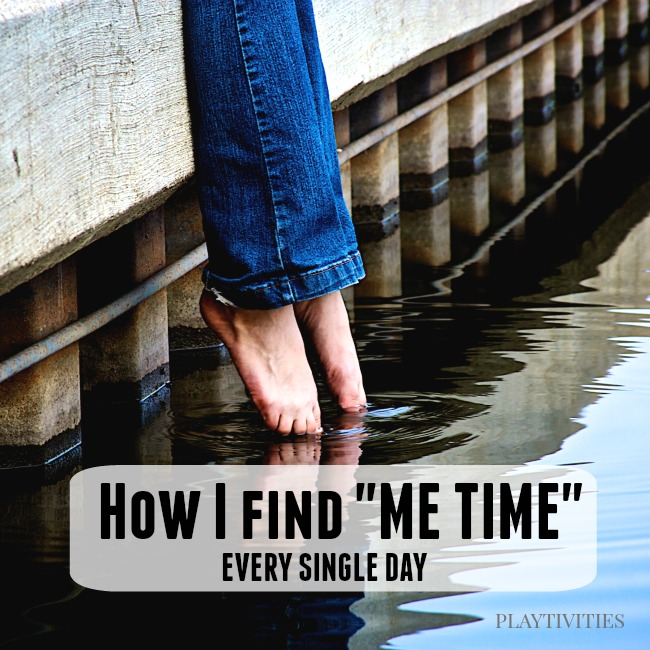 how I find me time
