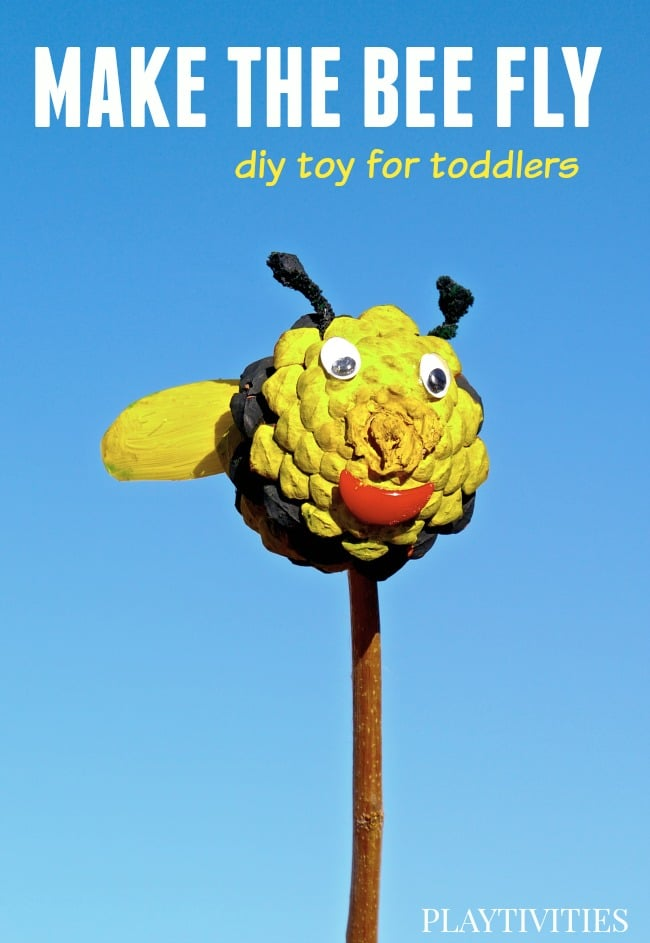 pinecone craft fly