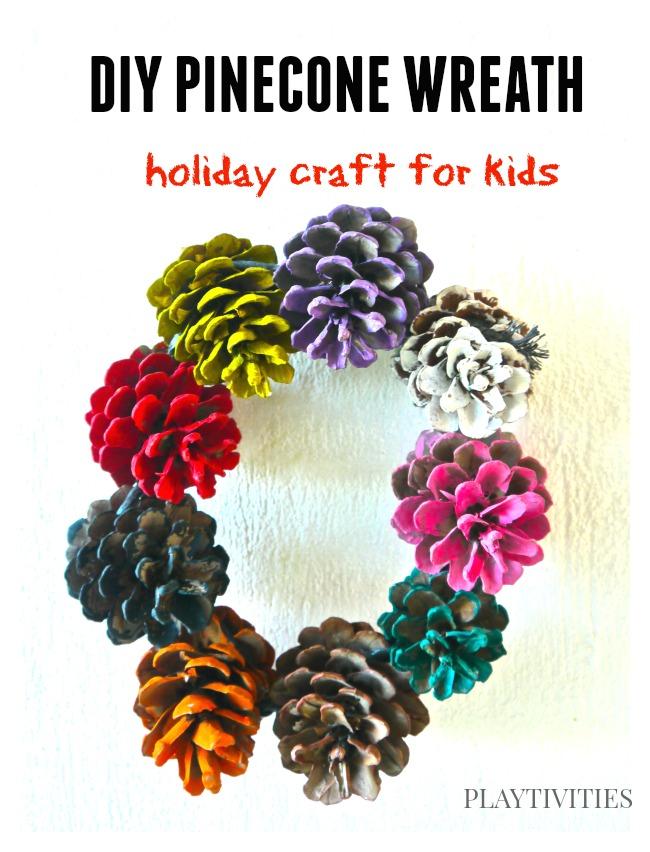 pinecone craft holiday