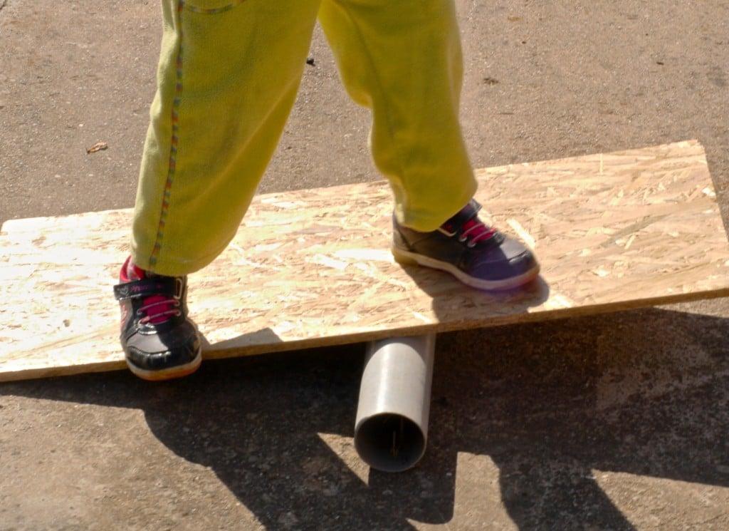 balance outdoor activities for kids