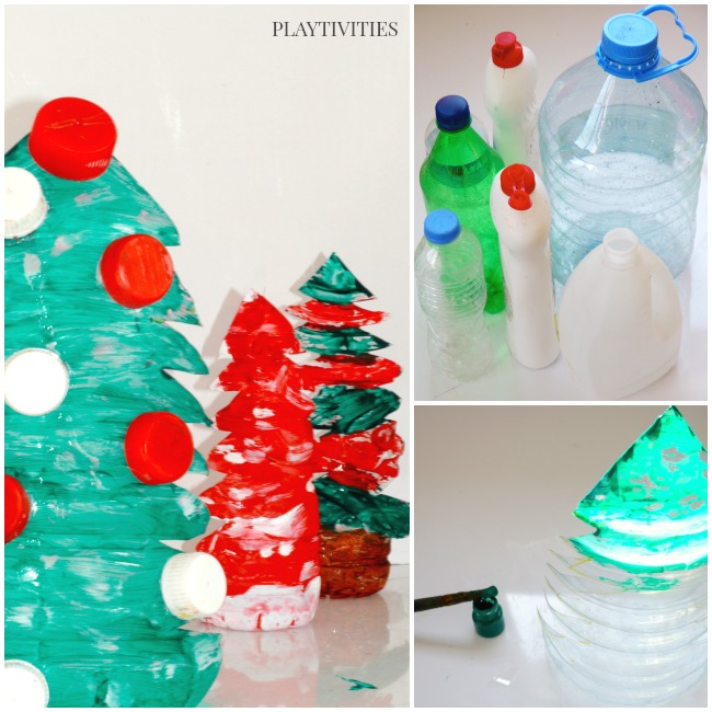 christmas tree craft for kids to make