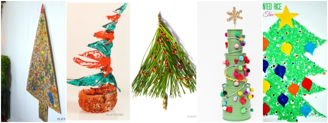 christmas tree crafts for kids4
