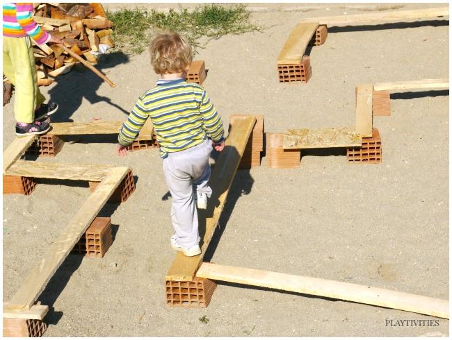 outdoor activities balancing