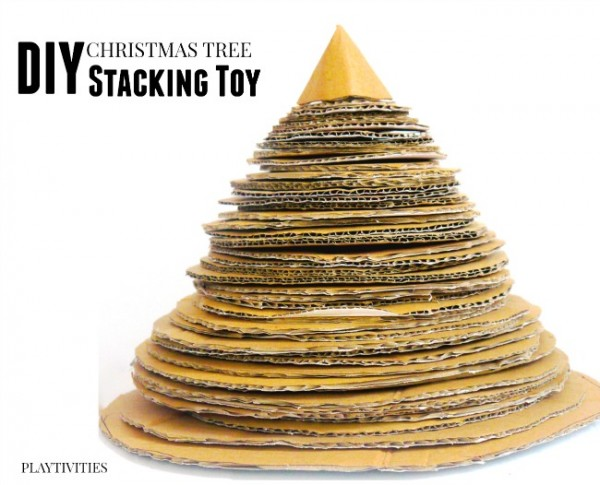 christmas stacking tree toy