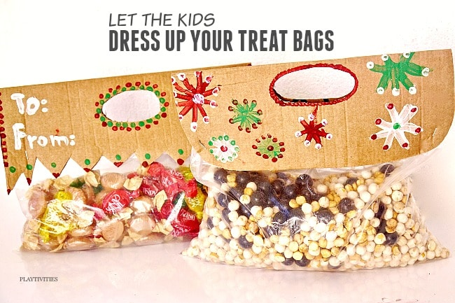 dress up treat bags
