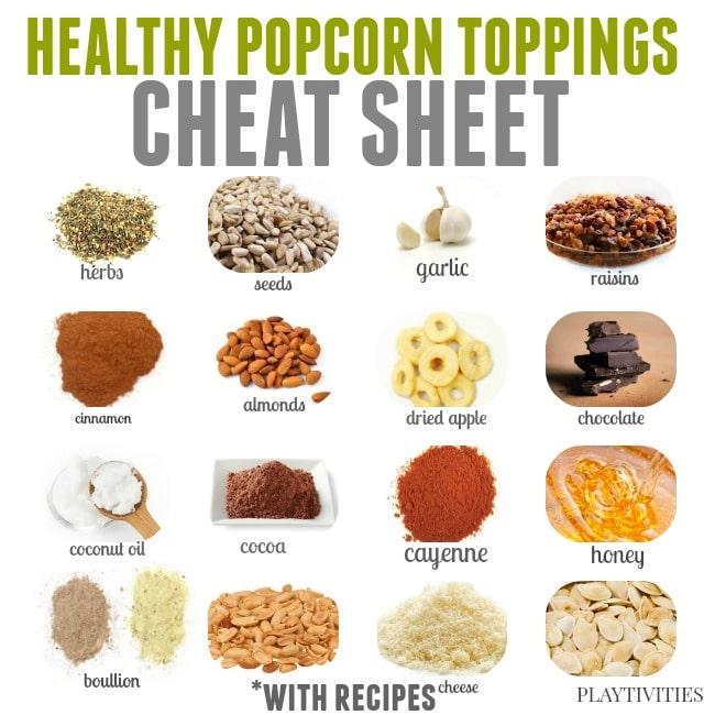 cheat sheet popcorn