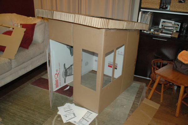 26 Coolest Cardboard Houses Ever - PLAYTIVITIES