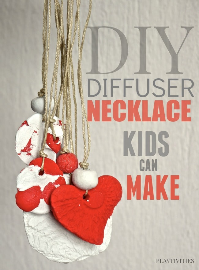 Diffuser Necklace Craft For Kids