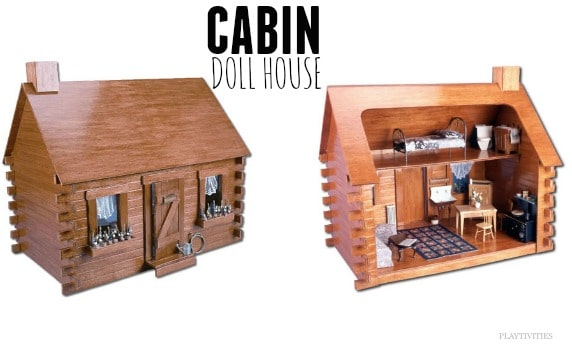 cabin doll house