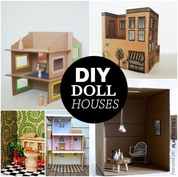cardboard doll houses
