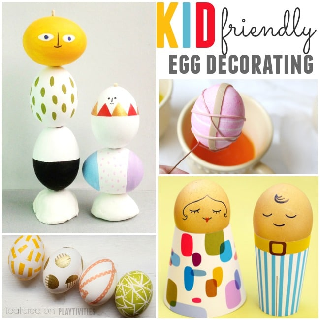 egg decorating for kids