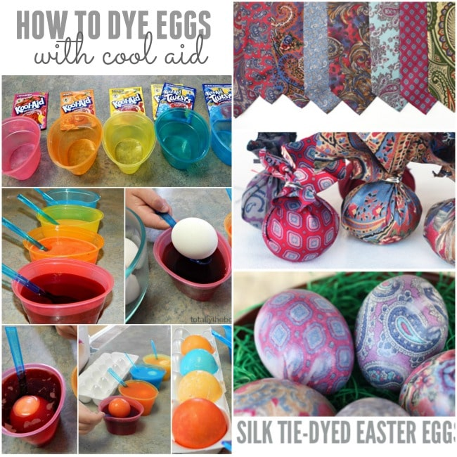 How to dye easter eggs with kids playtivities How to color easter eggs