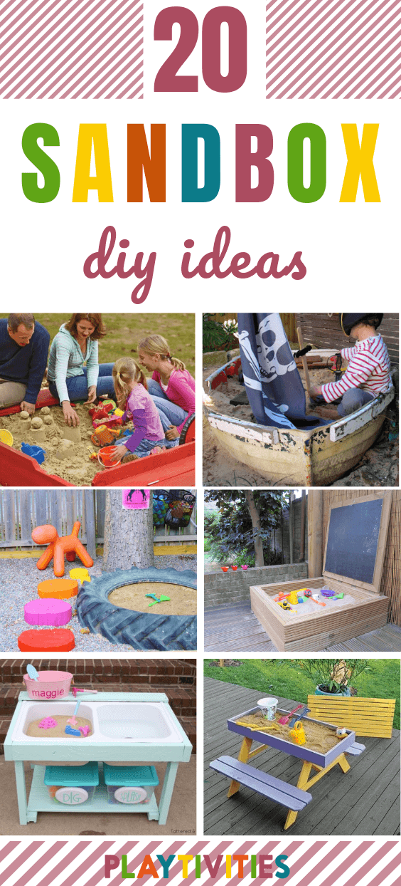 028ae2d43d 20 Creative DIY Sandbox Ideas - Backyard Activites ideas- PLAYTIVITIES