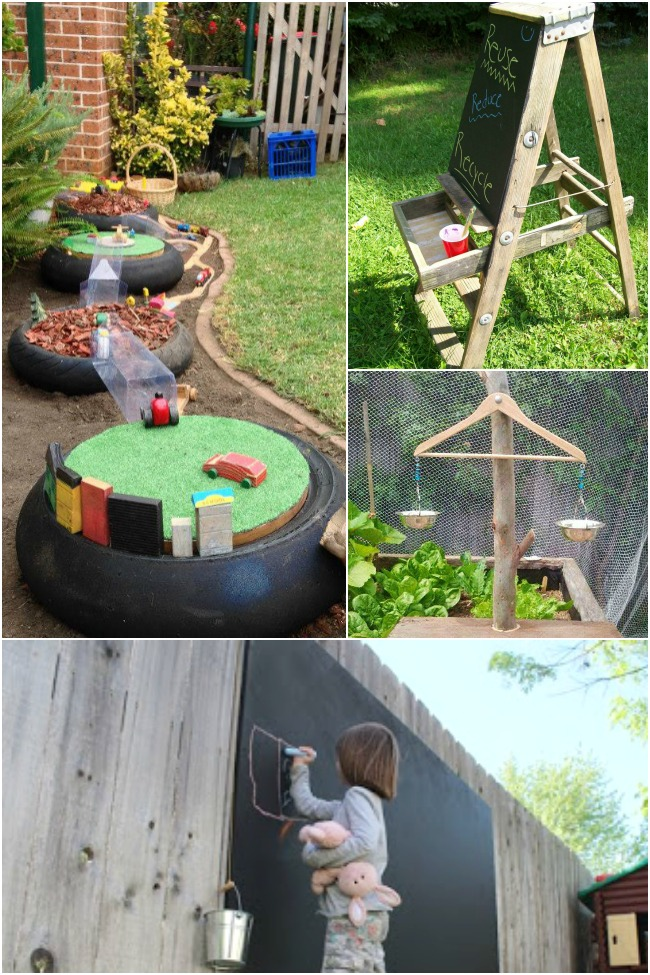 DIY Backyard Ideas For Kids PLAYTIVITIES - Fun backyard ideas