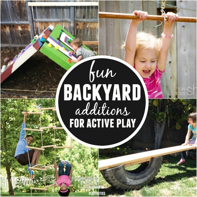 DIY Backyard Ideas For Kids PLAYTIVITIES - Backyard fun ideas