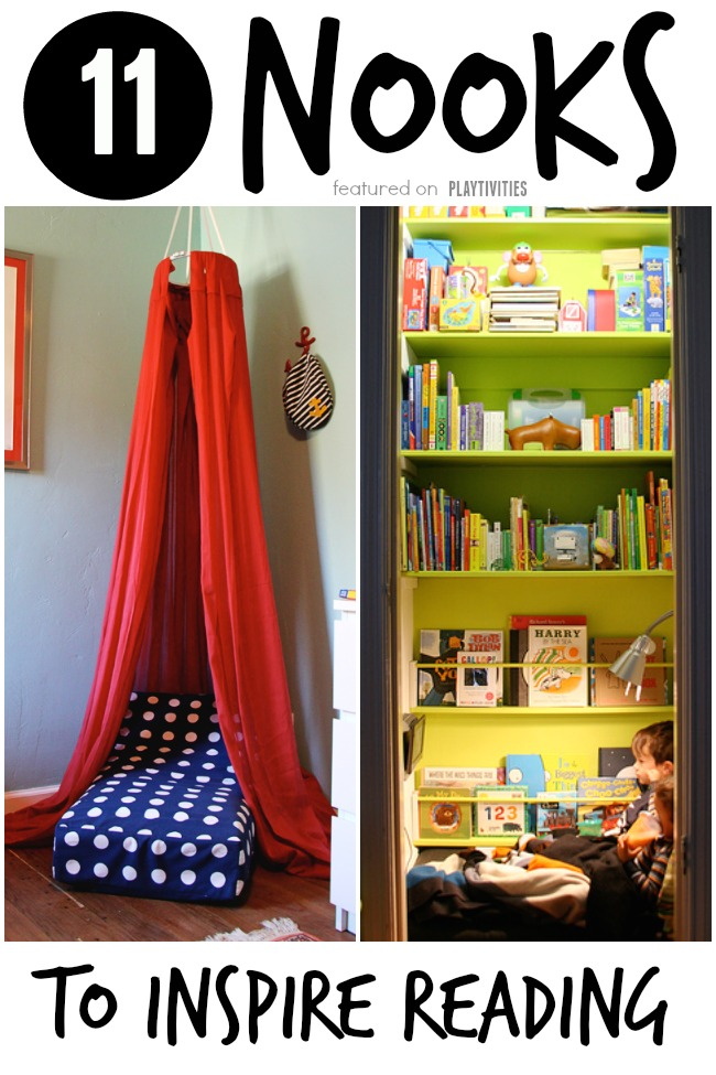 Diy Reading Nook Ideas For Kids Playtivities