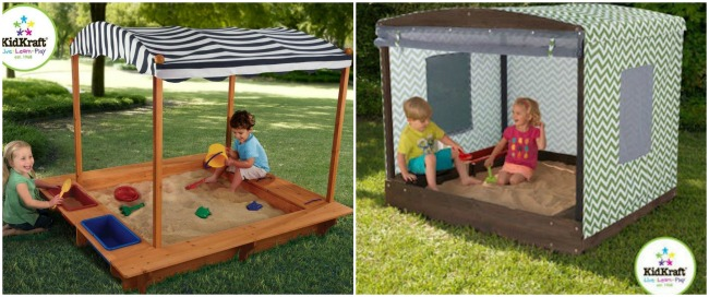 17 Creative DIY Sandbox Ideas - PLAYTIVITIES
