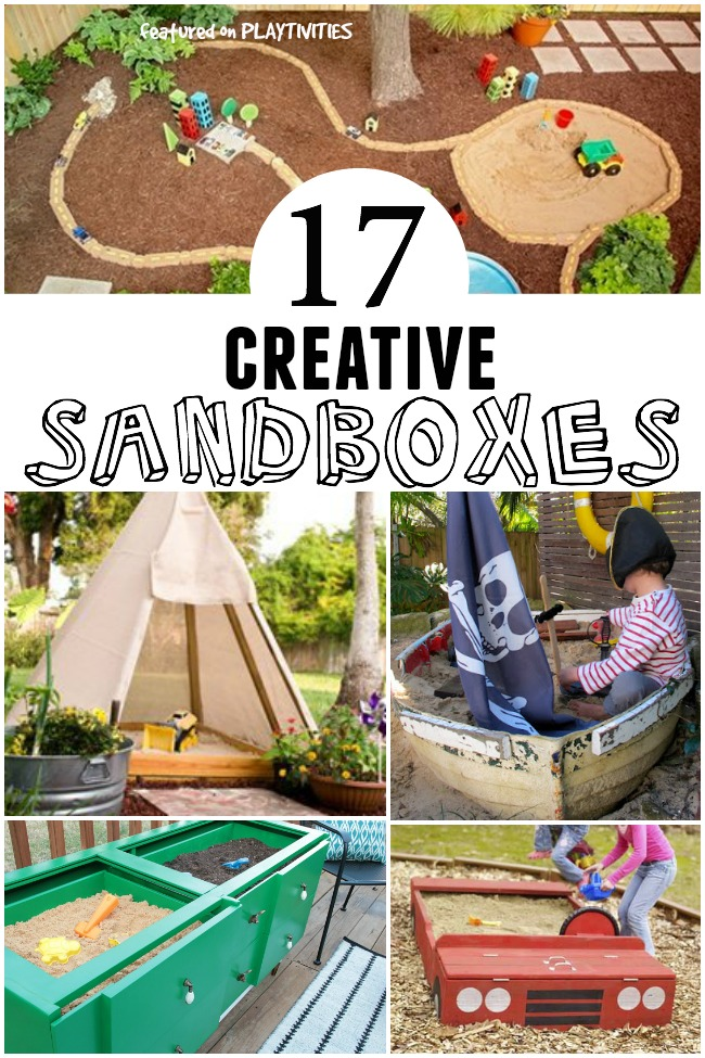 diy sandbox ideas with tutorials - Sandbox Design Ideas