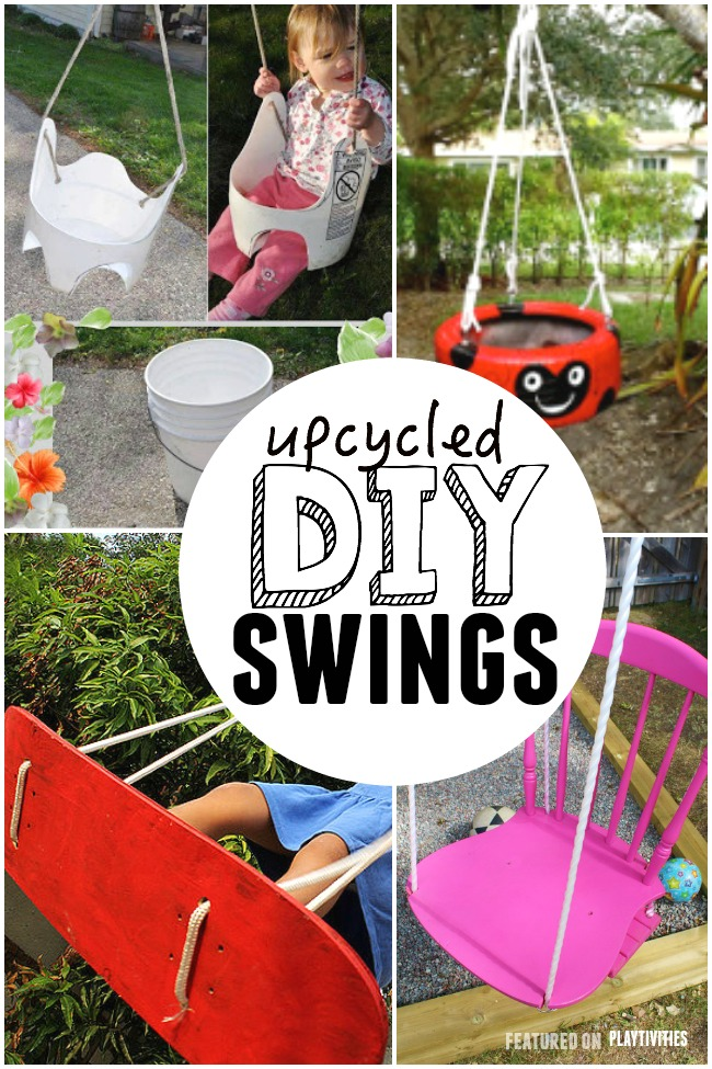 Genial Upcycled Swings