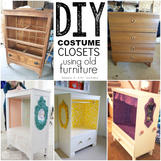 Reusing Old Furniture repurposing old furniture. kid friendly ideas - playtivities