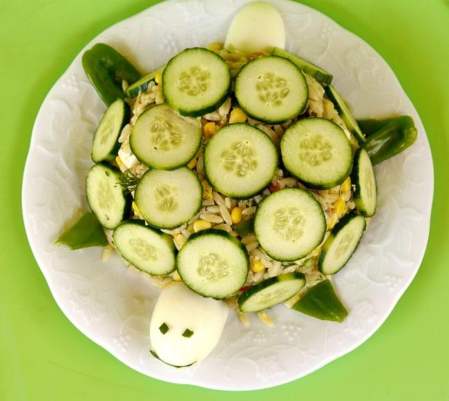 pasta salad turtle