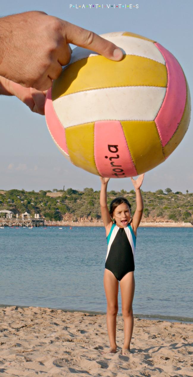 fun beach photos ball