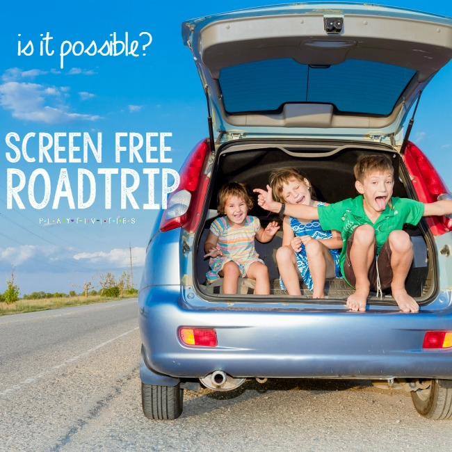 screen free roadtrip