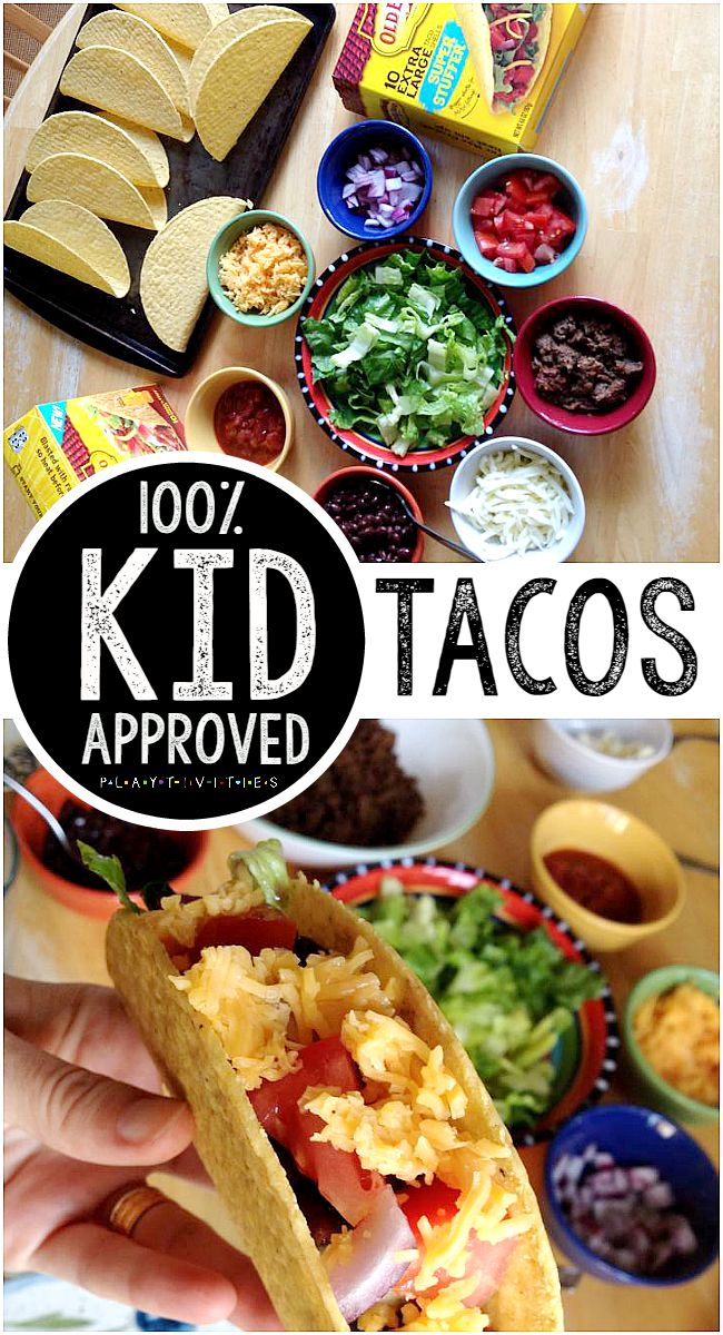 Kid Approved Taco Dinner