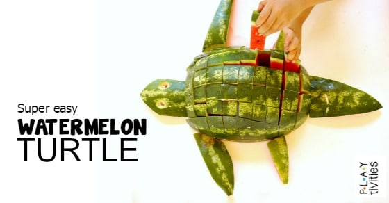 how to cut watermelon FB