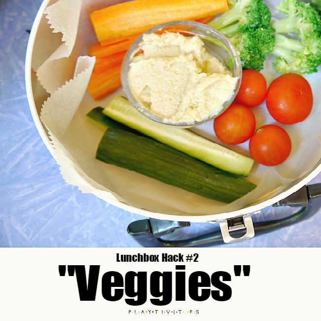 lunchbox ideas veggies